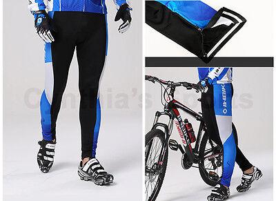INBIKE Cycling Bike Windproof Thermal Fleeced Chamois Tights IA314 FLP
