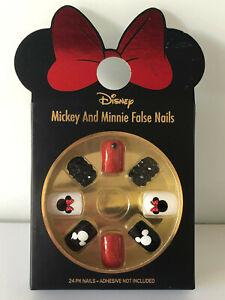 Disney-Minnie-Mickey-Mouse-Nagel-Tips-Kuenstliche-Fingernaegel-Kunstnaegel-Primark
