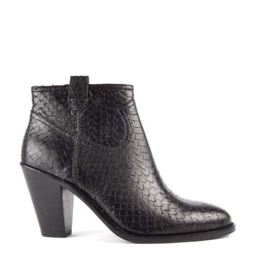 Stivaletto Footwear Pitone Ivana Ash Nero wIFdwn