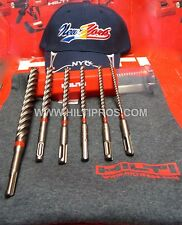 HILTI CARBIDE DRILL BIT SET,CUSTOM T-SHIRT, HAT, FAST SHIP, L@@KS G@@D,