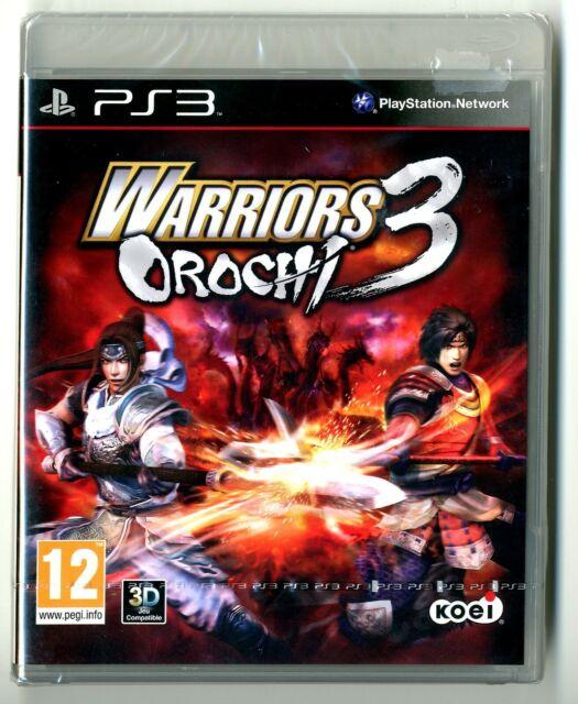 JEU PS3 ★ WARRIORS OROCHI 3 ★ NEUF SOUS BLISTER ★ SONY PLAYSTATION 3