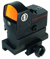 Bushnell Optics First Strike Hirise Red Dot Riflescope With Riser Block Ar730005 on sale