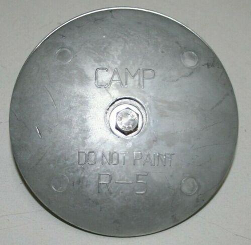 Camp R-5 Rudder Zinc