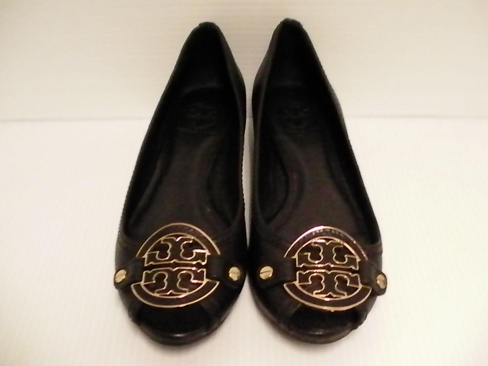 Para mujeres Zapatos AMANDA DE TORY BURCH Puntera Abierta Abierta Abierta Negros Talla 7.5  n ° 1 en línea