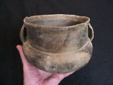 SOLID AUTHENTIC CIRCA 1300 1400 AD MISSISSIPPIAN POTTERY JAR FROM ARKANSAS