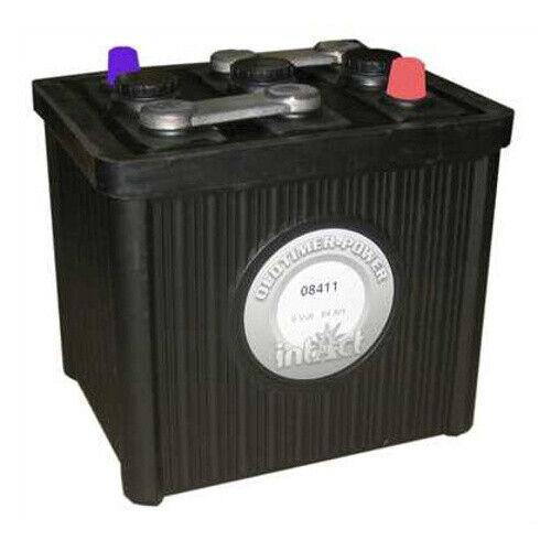 Intact Oldtimer-Power 08411 Starterbatterie Hartgummi-Optik 84Ah 6V *NEU*