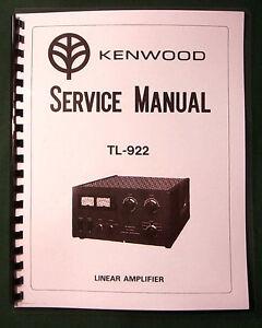 kenwood tl922 amplifier receiver repair manual