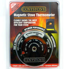 Spend less on fuel COSYSTOVE STOVE FAN MAGNETIC STOVE THERMOMETER Wood Burner