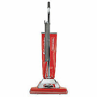 Sanitaire Upright Vacuum,16 In,145 Cfm,7a,120v, Sc899f