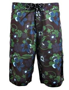 Soul Star New Mens Casual Floral Flower Summer Beach Swim Water Long Surf Shorts