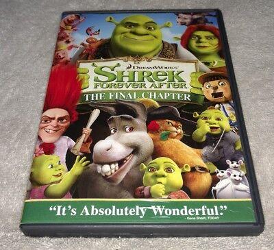 Shrek Forever After Dvd 2010 Ebay