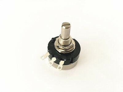 10pcs RV24YN 20S B203 20K ohm Carbon Composition Rotary Taper Potentiometer ±10/%