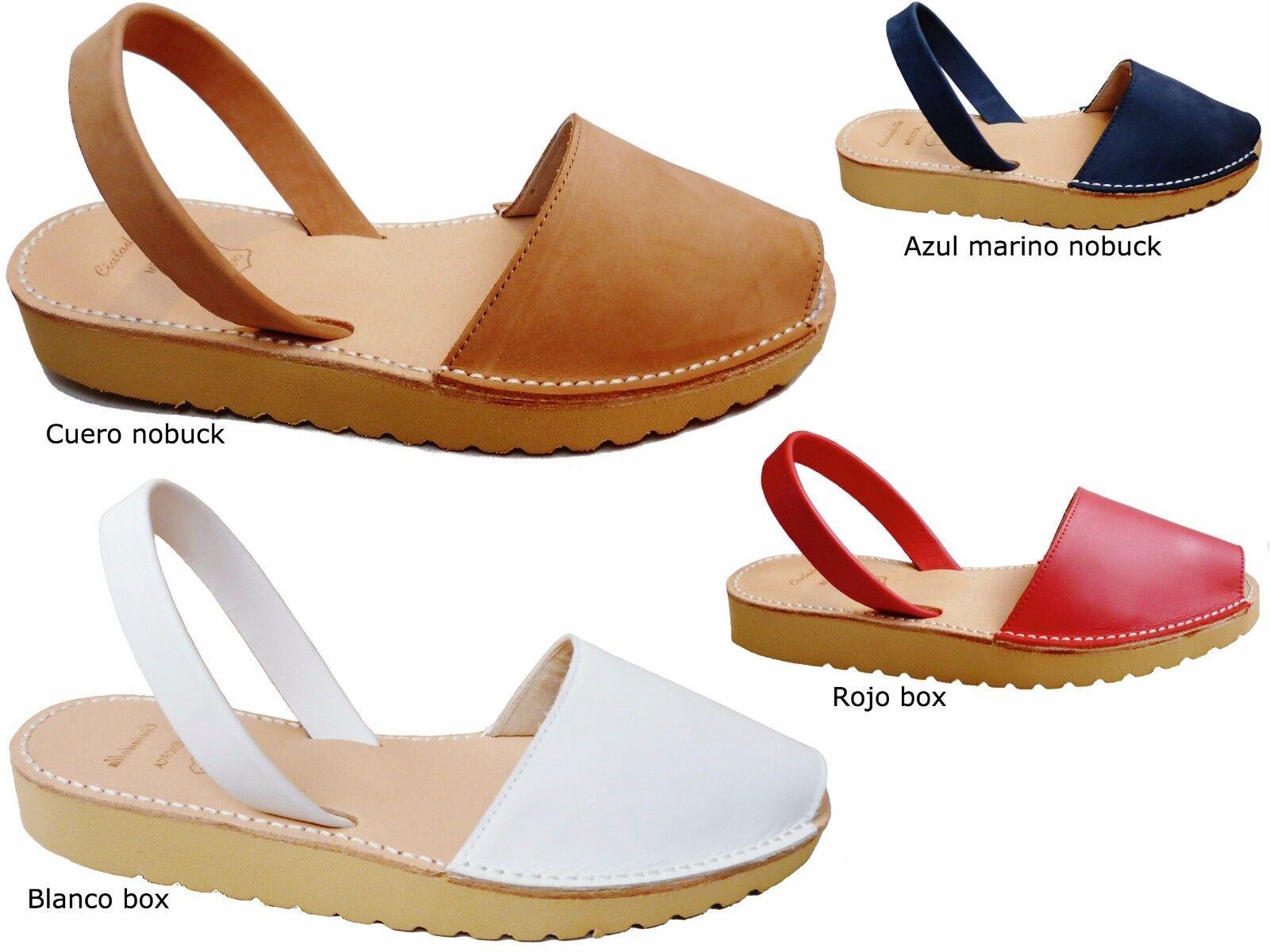 Avarcas menorquínas menorca sandals silverFORMA 2,5 cm  BEIGE real spain abarcas