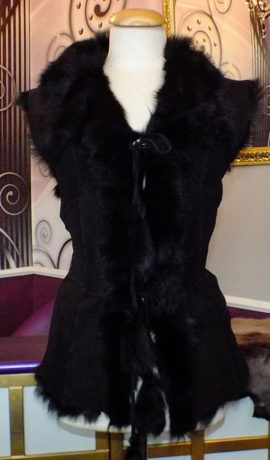 Luxus Designer Designer Designer Damen  Lammfellweste mit echtem Toskana Fell  Gr 36, Gr.38 40 NEU   | Angemessene Lieferung und pünktliche Lieferung  | Günstigen Preis  | Rabatt  | Erste Klasse in seiner Klasse  | Sehr gute Qualität  51872b
