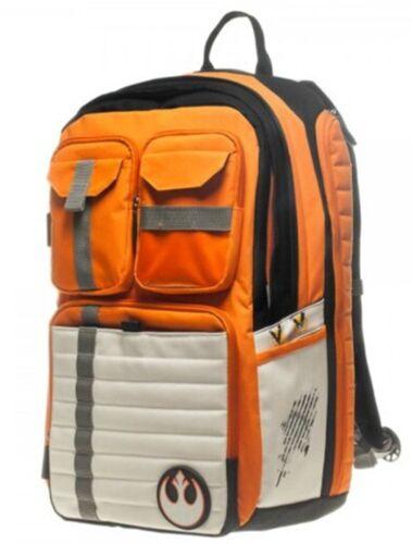 Star Wars Rebel Alliance Icon Backpack Cosplay School Bag Purse Laptop Orange