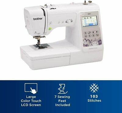 Brother Se600 Computerized Sewing Embroidery Machine 12502649823 Ebay