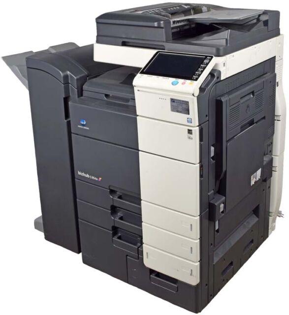 Konica Minolta C504500 bizhub C654e Console Full Color  Printer/Copier/Scanner