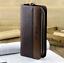 Men-Leather-Long-Clutch-Business-High-Capacity-Purse-Double-Zipper-Casual-Wallet thumbnail 6