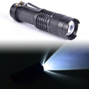 Telescopic-Focus-Flashlight-200-Lumens-Q5-LED-Torch-3-Mode-Alloy-FlashlightWKTP
