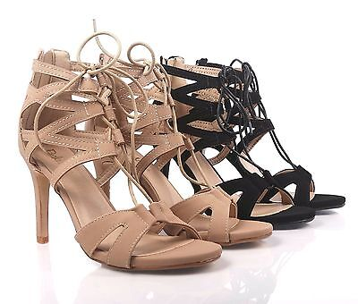 Laila Taupe Caged Heels   Heels, Caged heels, Vegan shoes