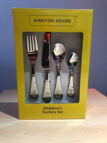 Children/'s cutlery set Kirkton House Plain with NO Theme
