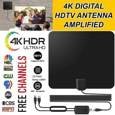 US HD Antenna EZ Digital TV Fox HDTV Bandit Cable New Free Skywire Fast Channels
