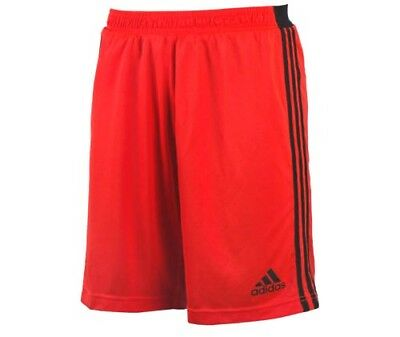 Adidas Mens Ufb Shorts Solar Red & Black Trim Ax7226 Preisnachlass