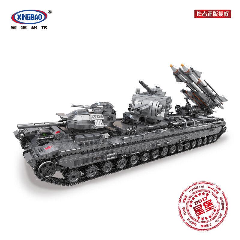 Xingbao Spielzeug Bausteine Series Tank Spielzeug Modellbausätze Geschenk