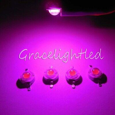 10pcs 1W 1Watt full spectrum led chip 400nm-840nm Plant grow light  DIY