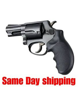 Details about Hogue 67000 Monogrip Taurus 85 94 605 941 Revolver Finger  Groove Rubber Black