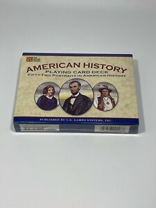 American-History-Deck-of-Playing-Cards-with-Biography-Booklet-History-Channel