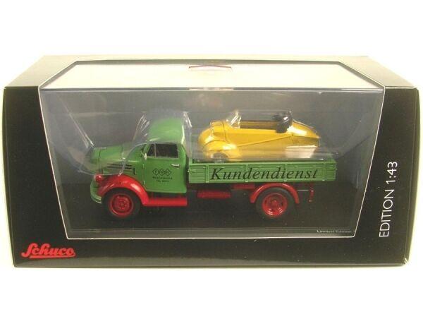 Borgward b2500 servicio posventa (servicio) con Messerschmitt Kabinenroller