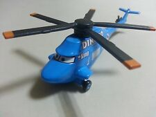 Mattel Disney Pixar Cars 2 Dinoco Helicopter Diecast Toy Car 1:55 New Loose *