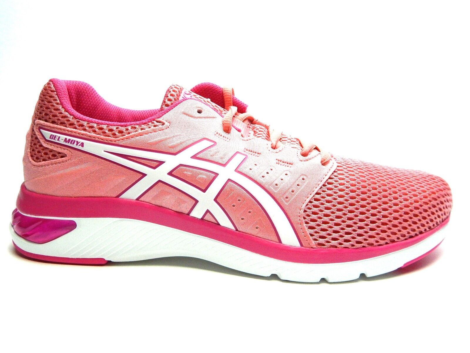 cheap for discount 08af2 a4daa ASICS GEL Moya t891n 700 Peach Peach Peach Petal Blanco Mujer Zapatos SIZE  6.5 a 10