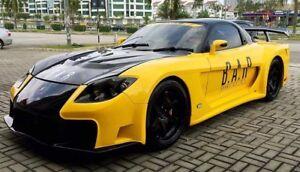 Mazda RX7 Veilside Fortune Style Full Wide Body Kit | eBay