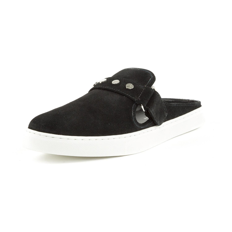 REBECCA MINKOFF Women's Sonia Black Suede Slip-On Sneakers Sz 9.5  150 NIB