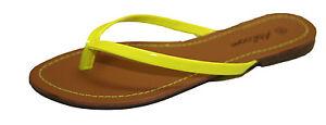 Tongs-Sandales-Claquettes-Pieds-Nus-Femme-Simili-Cuir-Vacances-Plage-Fashion