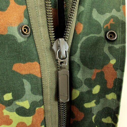 Original German Army Flecktarn Camo Parka Military Surplus Coat Jacket Issued