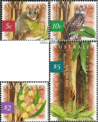 Australia 1575y1578y complete.issue. unmounted mint never hinged 1996 Natur