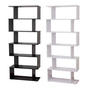 HOMCOM-Libreria di Design in Pannelli di Particelle Ufficio Scaffale ...