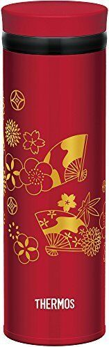 THERMOS Drink Bottle Flask Container Portable Mug Red 0.5L 500ml Made in JAPAN