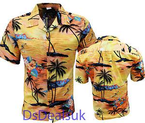 herren hawaii hemd aloha hawaii herrenabend palme urlaub strand pool party s 6xl ebay. Black Bedroom Furniture Sets. Home Design Ideas