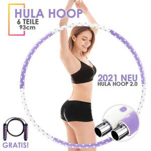 Hula Hoop Reifen Fitness Schaumstoff 0.9 - 2.5 KG Bauchtrainer Fitnesstraining