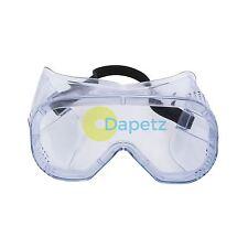 Heavy Duty Gafas de protección de los ojos Trabajo Industrial Gafas Ventilado Transparente
