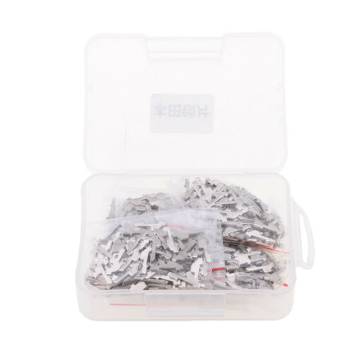 600 Pieces Automotive Ignition Lock Reed Fixing Gasket Plate for Honda