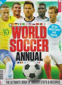 Details about WORLD SOCCER ANNUAL MAGAZINE #4 2018, Ultimate Book of Soccer  Stats and Records