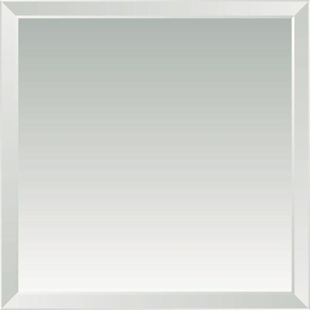 BEVEL EDGE BATHROOM MIRROR/GLASS,900 X 900 MM,6MM THICKNESS