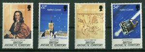 BAT-British-Antarctic-Territtory-132-135-Halleyscher-Komet-postfrisch-MNH-1986