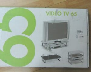 LEMCA-MOBILE-PORTA-TV-VIDEO-TV-65-COLORE-SILVER-MADE-IN-ITALY-NEW