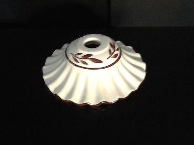 Bello Tazzina In Ceramica Lucido Per Lampadario Decorata Ricambio Sostituzione